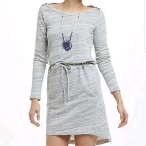 Left of Center Anthropologie Sweatshirt Dress S